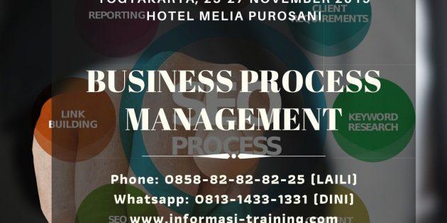 BUSINESS PROCESS MANAGEMENT – Pasti Jalan