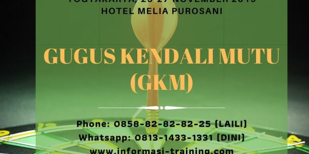 GUGUS KENDALI MUTU (GKM) – Available Online