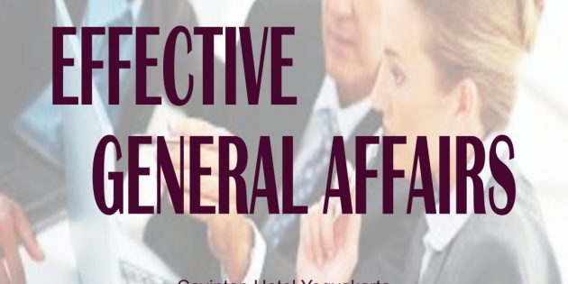 GENERAL AFFAIR OFFICER PROGRAM