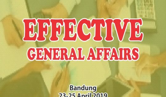 EFFECTIVE GENERAL AFFAIRS – Almost Running