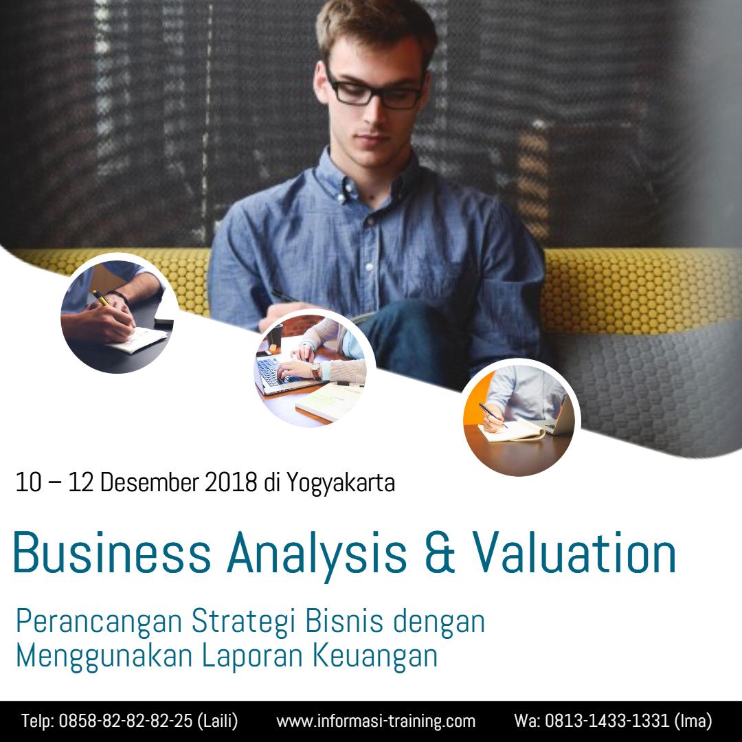 analisis & evaluasi bisnis