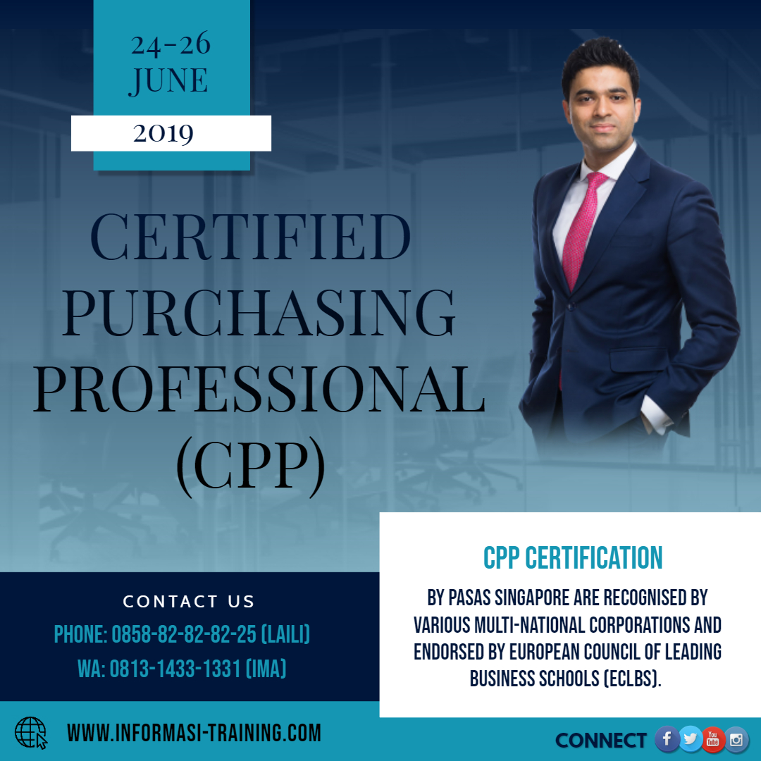 certified purchasing professional