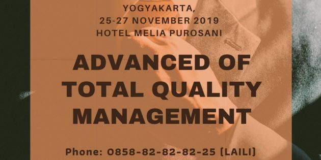 Advanced Of Total Quality Management