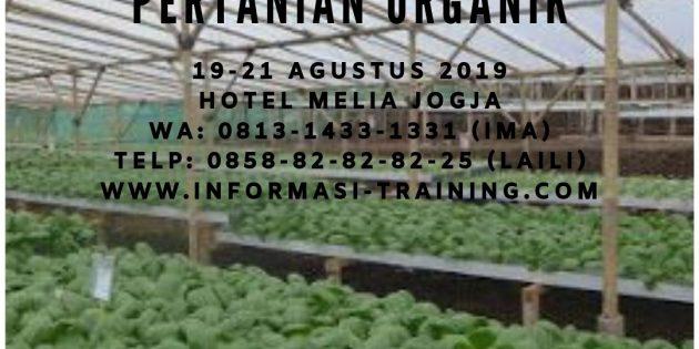 Perencanaan Program Pertanian Organik – PASTI JALAN